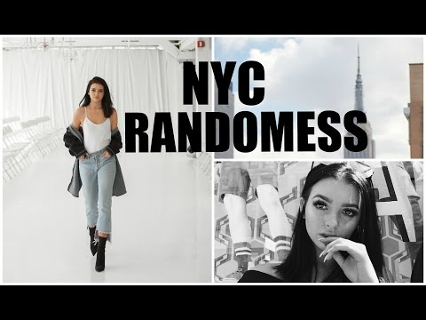 NYC RANDOMNESS | Fashion week, shopping, & food
