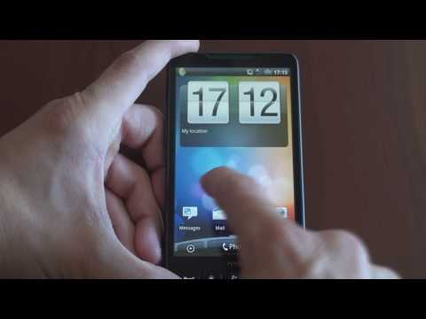 Video: Android on the HTC HD2!