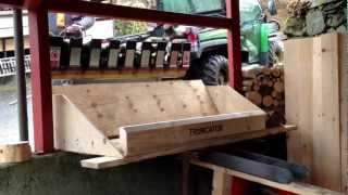 New Truncator wood log processor
