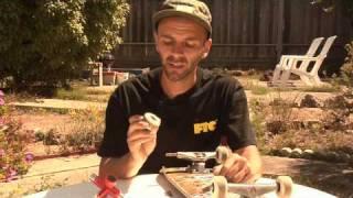 Skateboarding Tricks & Maintenance : How to Remove Bearings From a Skateboard