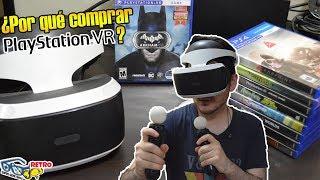 Playstation VR: ¿Por qué comprar? - Mejores juegos y recomendaciones | Retro SQS