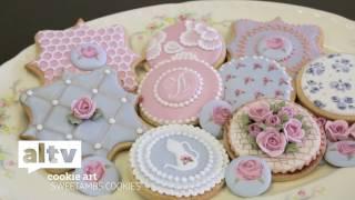 """ALTV Presents """"SweetAmbs Cookie Art Tutorial"""""""