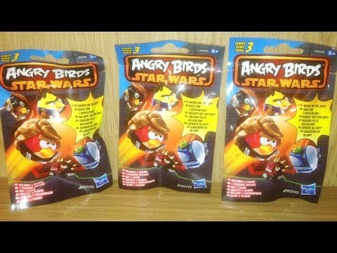 Blind Bag Mystery 068 Angry Birds Star Wars Series 3 Mini Figures By Jennifer Mulkerrin