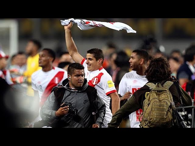 World Cup joy in Peru