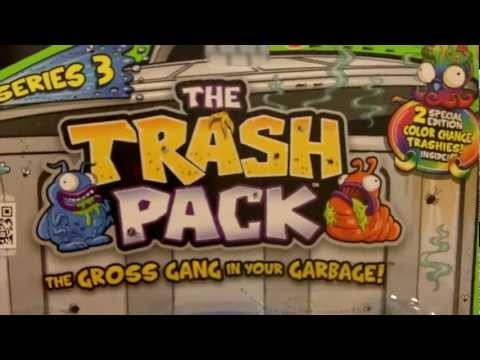 Series 3 Trash Pack 12 Pack Unboxings by Reaganzilla of Reagans Toy Review