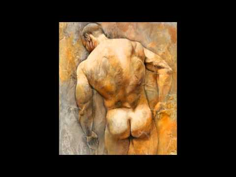 Male Nude Art - Cristobal Sanchez Lopez. 1966- Living video
