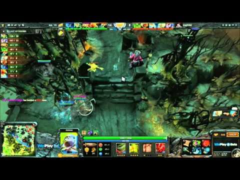 Na`Vi vs Empire - Game 2 (WePlay - WB Semi-Final) [DENDI PUDGE BLINK!!!]