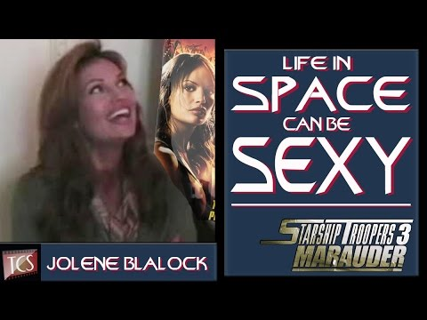 Starship Troopers 3 - Jolene Blalock Comic-Con Interview Video