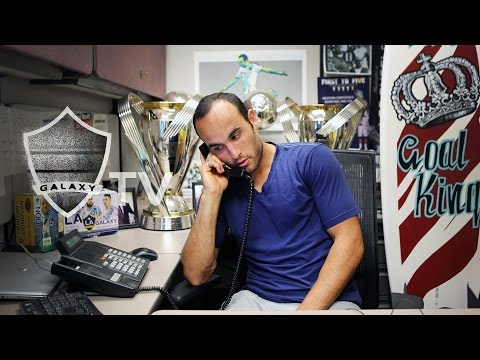 LA Galaxy's Landon Donovan prank calls Clint Dempsey and the Seattle Sounders