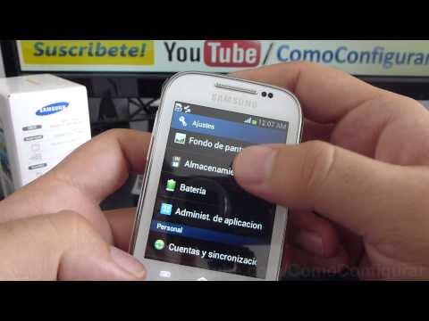review samsung galaxy chat gt b5330 español Video Full HD