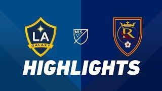 LA Galaxy vs. Real Salt Lake   HIGHLIGHTS - April 28, 2019