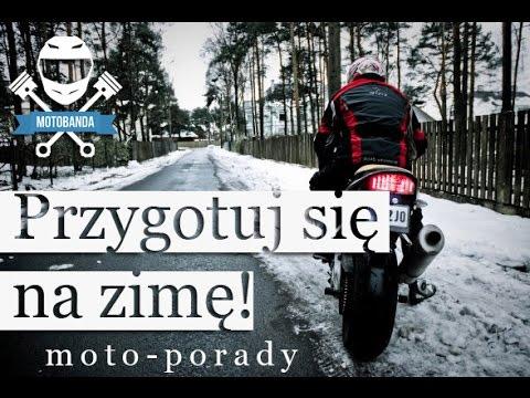 Jak Przygotować Motocykl Do Zimy? Zimowanie Motocykla. Porady Motocyklowe motobanda.pl
