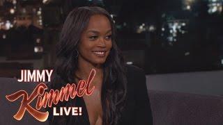 Jimmy Kimmel Gives The Bachelorette Rachel Lindsay a Lie Detector Test