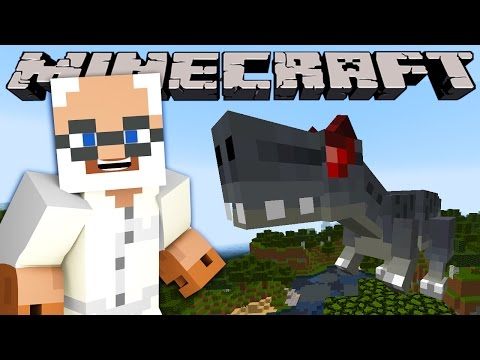 Minecraft - Dinosaur Update - Visting Jurrasic Park (fossils & Archaeology, Dinosaurs Mod) video
