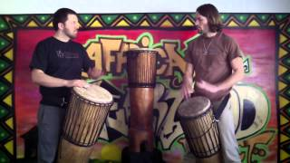 Classical Heartwood Ngoma Drum  Demonstration