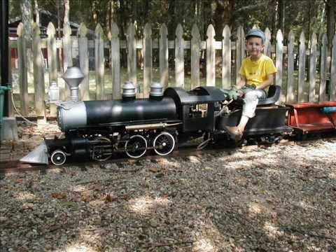 live steam model train railroad locomotive track 7.5 gauge 1.5 scale miniature