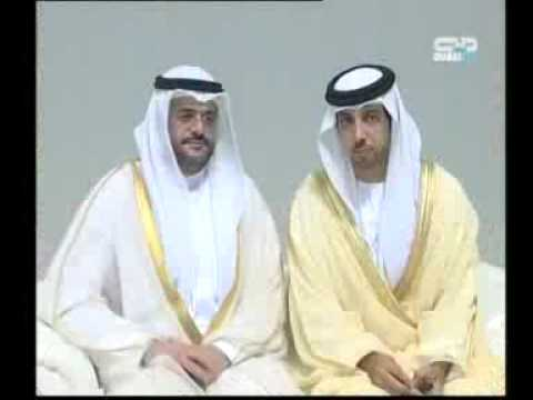 President and Rulers of the UAE attend the Al Maktoum and Al Khalifa wedding 28 Sept 2009 32 7 MB