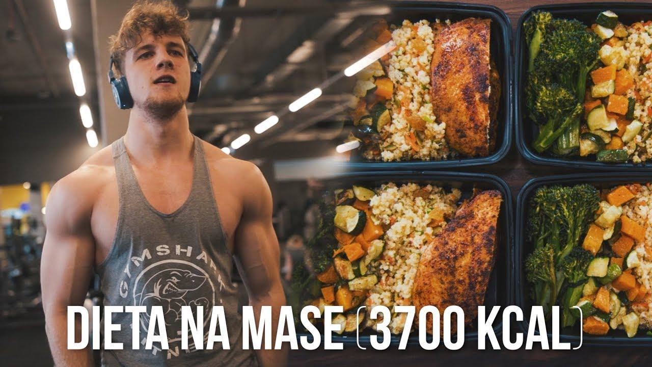 Najlepsza Dieta Na Mase Caly Dzien Jedzenia 3700kcal