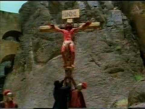 Terrible Crucifixion Scene Video