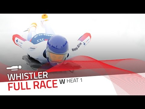 Whistler | BMW IBSF World Cup 2016/2017 - Women's Skeleton Heat 1 | IBSF Official