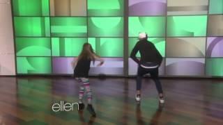 Menina impressionou o Brasil com sua dança