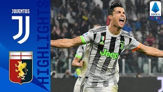 Juventus 2-1 Genoa | Ronaldo Wins it Late-On as Both Teams See Red | Serie A