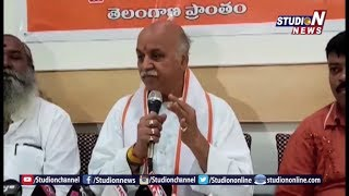 Former International Working President Of VHP Pravin Togadia Press Meet