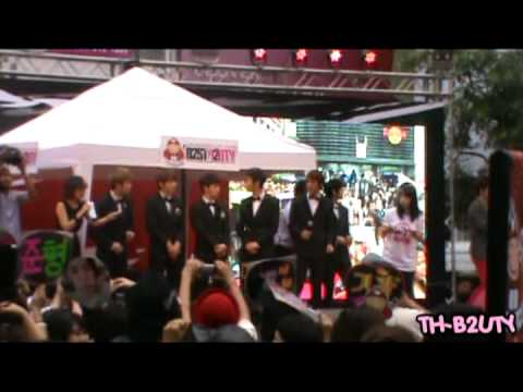 [FANCAM] BEAST at Siam Square TKN Press Conference 120113