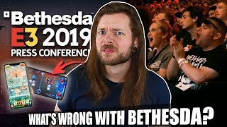 Did Bethesda PAY the E3 2019 audience to cheer for Mobile Games?