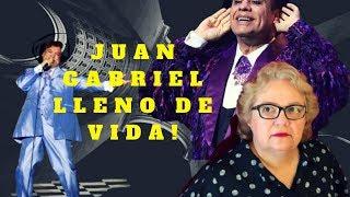 JUAN GABRIEL LLENO DE VIDA!