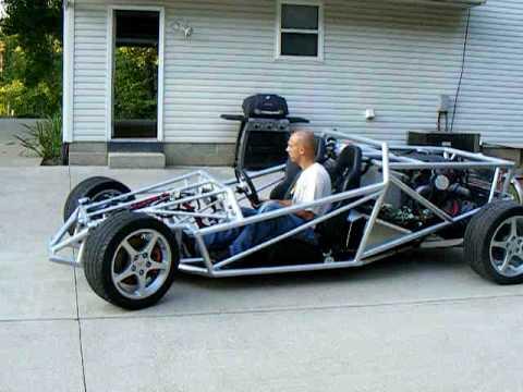 Ariel Atom Inspired V 8 Project Car First Test Drive