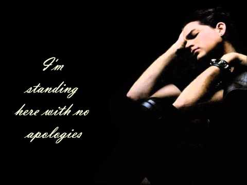 Underneath- Adam Lambert (Lyrics)