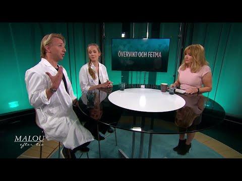 Läkaren: Därför är det svårt att behålla vikten efter en nedgång - Malou Efter tio (TV4)