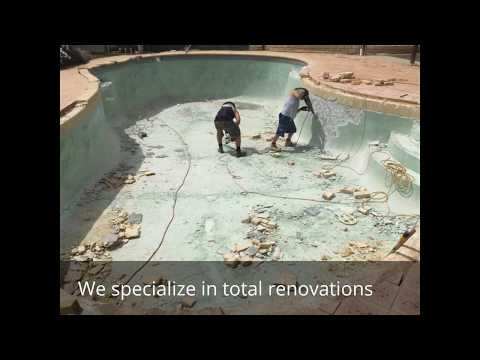 Inground Pool Remodeling Conroe Texas