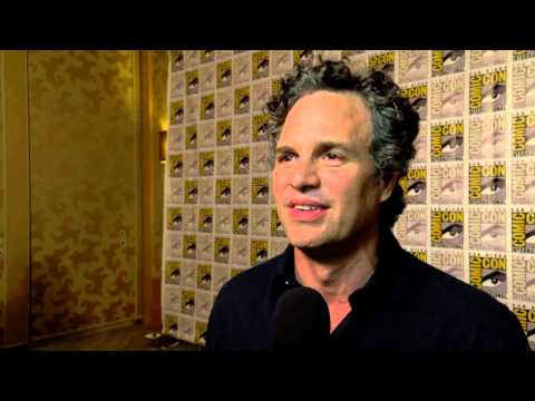 The Avengers: Age of Ultron: Mark Ruffalo Comic Con Movie Interview