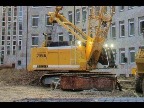 Liebherr HS 875 Schlitzwandgreifer Z�blin Hamburg