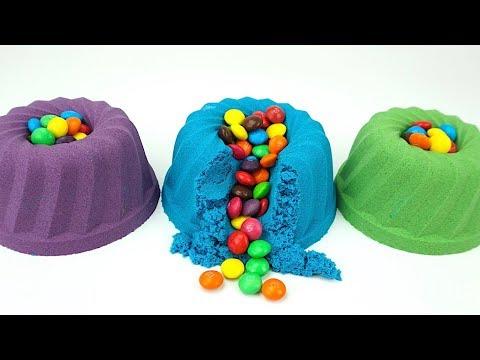 Сюрпризы и игрушки для детей Сюрпризы в кинетическом песке из популярных мультиков  Видео для дете