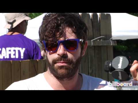 Foals Q&A at Bonnaroo 2013