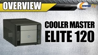 Newegg TV_ COOLER MASTER Elite 120 Mini-ITX Tower Computer Case Overview