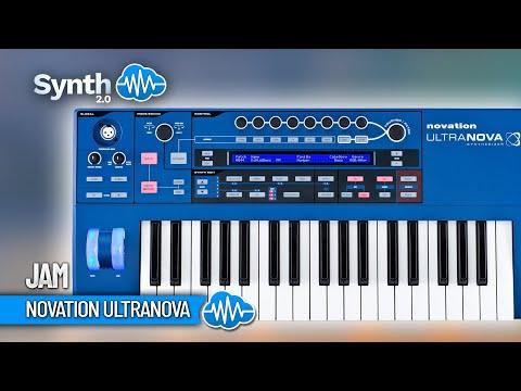 Jamming on Novation Ultranova by S4K Team ( Space4Keys Keyboard Solo )
