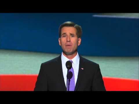 DNC 2012 - Beau Biden Says Obama, Biden Were There For Us