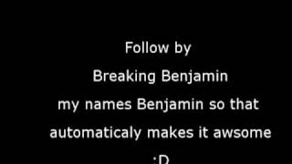 Watch Breaking Benjamin Follow video