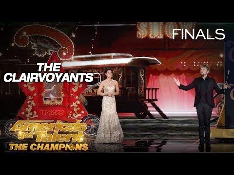 LEAK: Legendary Mind-Readers Take Howie Mandel On Epic Ride - America's Got Talent: The Champions