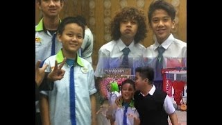 Coboy Junior in SENAM PINTAR Kenneth & Samuel Lengkong MCB di YKS NEW BRAIN GYM