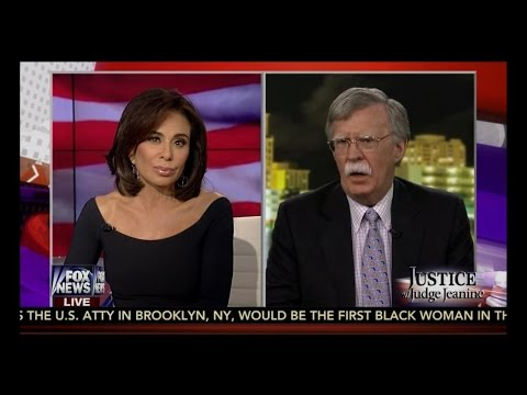 Judge Jeanine, John Bolton & Morgan Wright