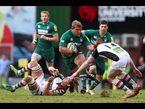 Leicester Tigers vs Harlequins 33 - 16 | Aviva Premiership Rugby SEMI FINAL