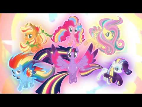 The Mane 6 Open The Chest And Defeat Tirek - My Little Pony: Friendship Is Magic - Season 4