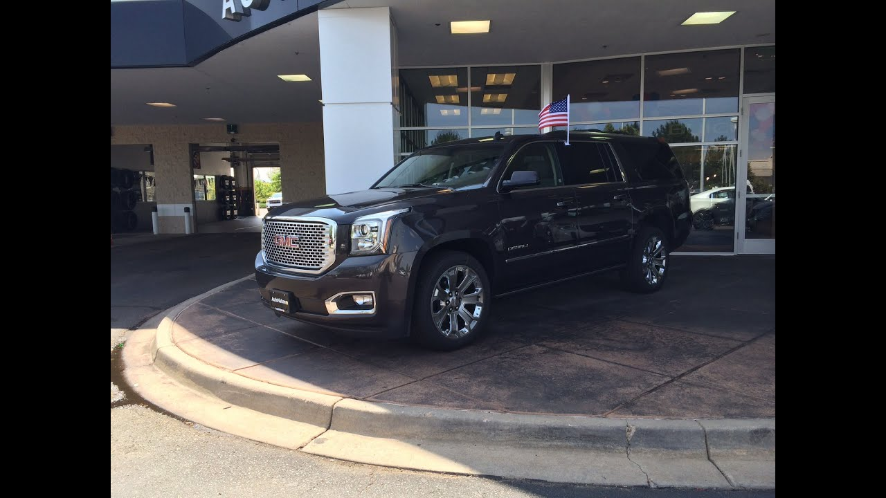 2015 gmc yukon xl denali start up in depth tour and review youtube. Black Bedroom Furniture Sets. Home Design Ideas