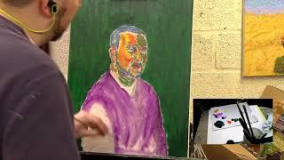 Painting for Lunatics: Self-Portrait - Part 2