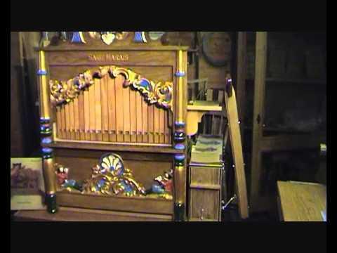 """Er speelt een orgel in mijn straat. Draaiorgel """"Sarie Marais"""""""